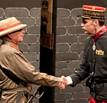 "Roger Massie and François Thouvenin in Tagora's production of ""Oh, What a Lovely War!"""