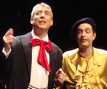 "Ian Bennett and Grégoire Devictor in ""Pretty Penny"""