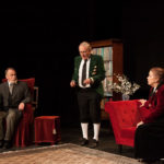 "Simon Palmer, Roger Massie and Bridget O'Loughlin in Tagora's production of ""The Cherry Orchard"""