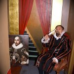 David Adamson as William Shakespeare