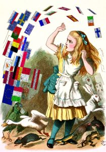 Alice in Brexitland. Credit: David Crowe, after John Tenniel.