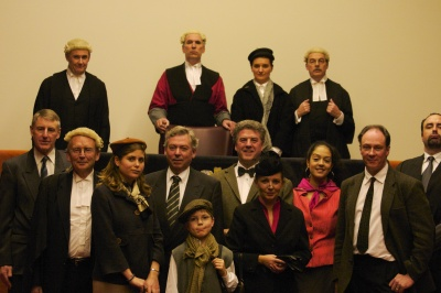 Witness for the Prosecution: cast photo